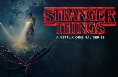 Stranger Things show on Netflix