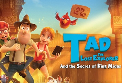 Tad the Lost Explorer and the Secret of King Midas